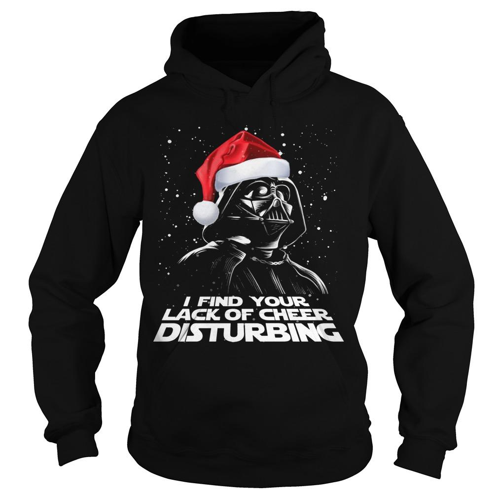 Christmas Darth Vader I Find Your Lack Of Cheer Disturbing Hoodie