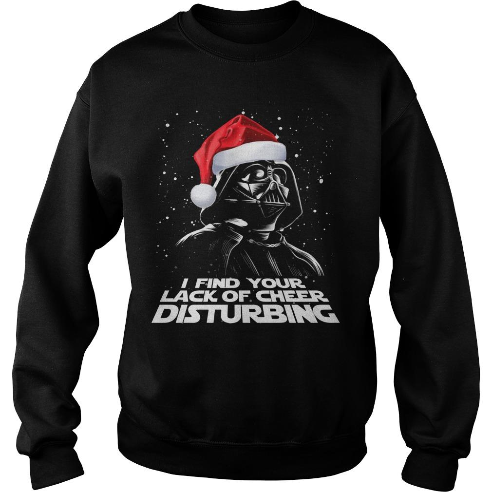 Christmas Darth Vader I Find Your Lack Of Cheer Disturbing Sweater