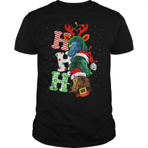 Christmas Horses Ho Ho Ho Shirt