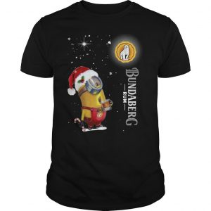 Christmas Minion Bundaberg Rum Shirt