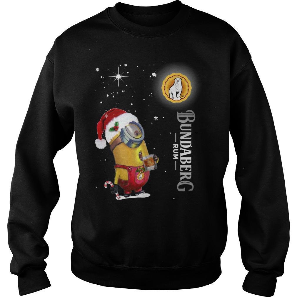 Christmas Minion Bundaberg Rum Sweater