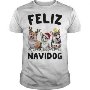 Christmas Pug Feliz Navidog Shirt