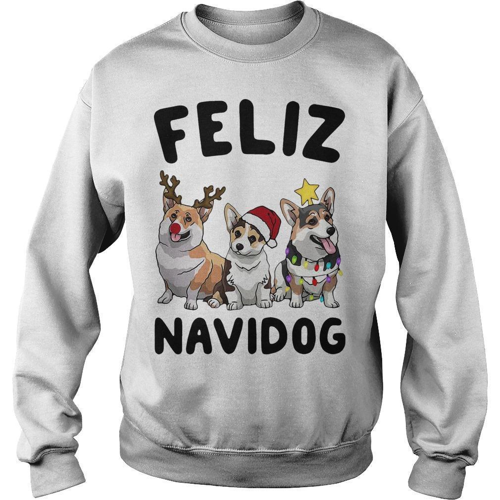 Christmas Pug Feliz Navidog Sweater