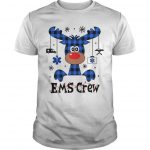 Christmas Reindeer Ems Crew Shirt