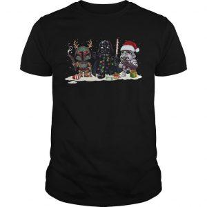 Christmas Star Wars Baby Darth Vader Shirt