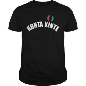 Colin Kaepernick NFL Workout Kunta Kinte Shirt