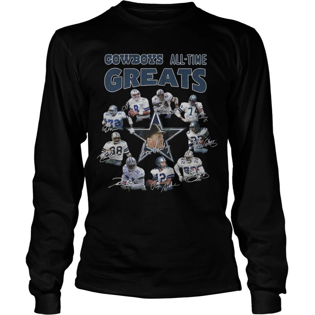 Cowboys All Time Greats Longsleeve