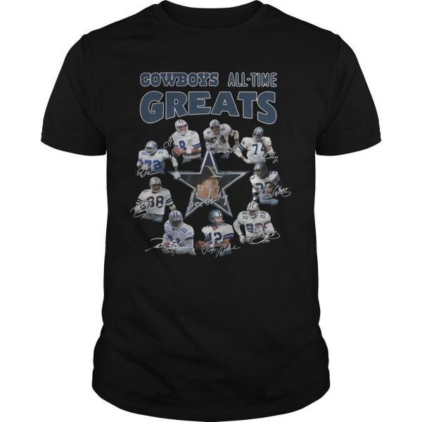 Cowboys All Time Greats Shirt