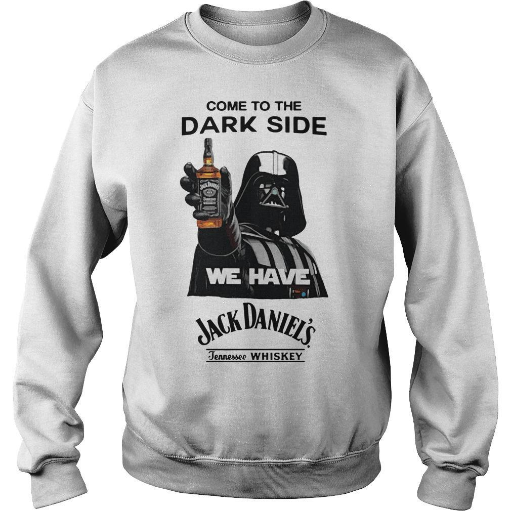 Darth Vader Come To The Dark Side We Have Jack Daniels Sweater