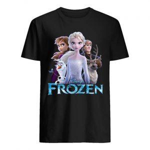 Disney Frozen Elsa Anna Olaf Kristoff Shirt