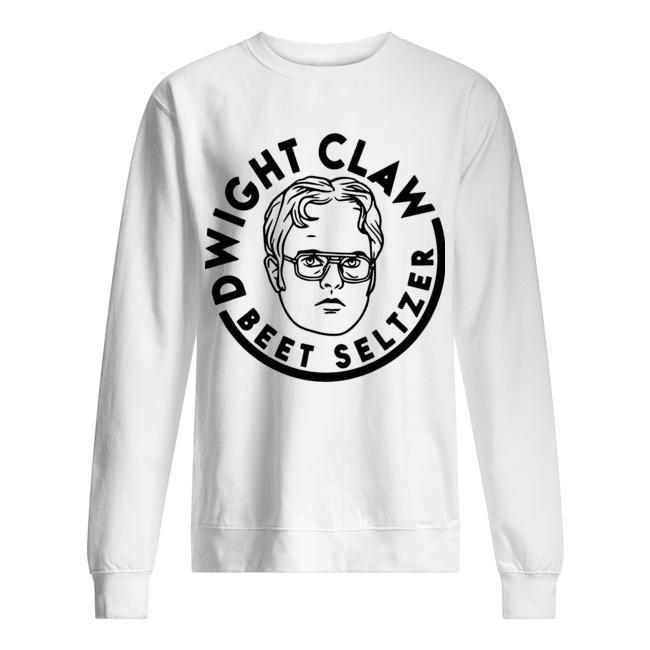 Dwight Claw Beet Seltzer Sweater