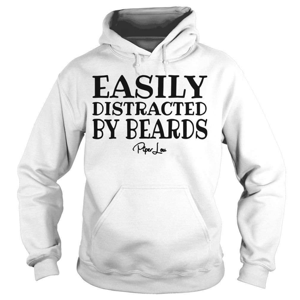 Easily Distracted By Beards Hoodie