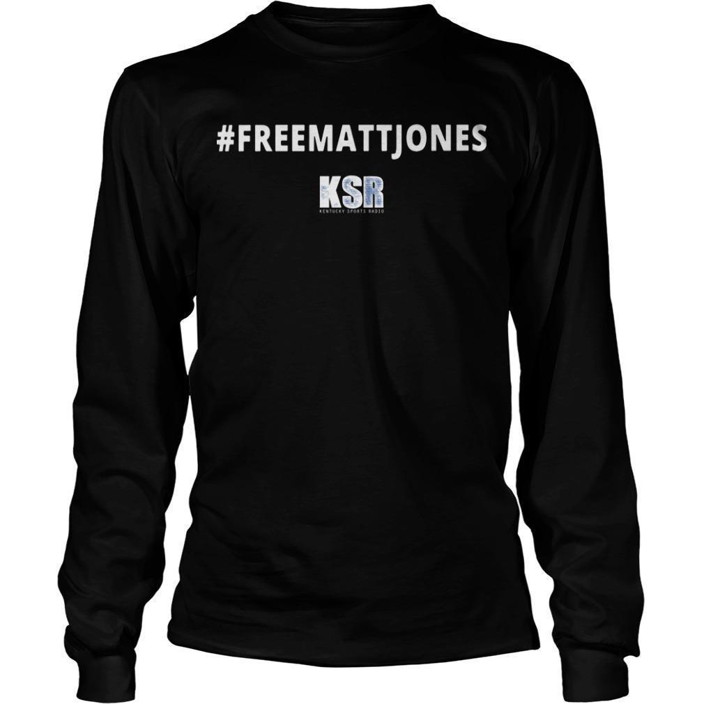#Freemattjones Ksr Longsleeve