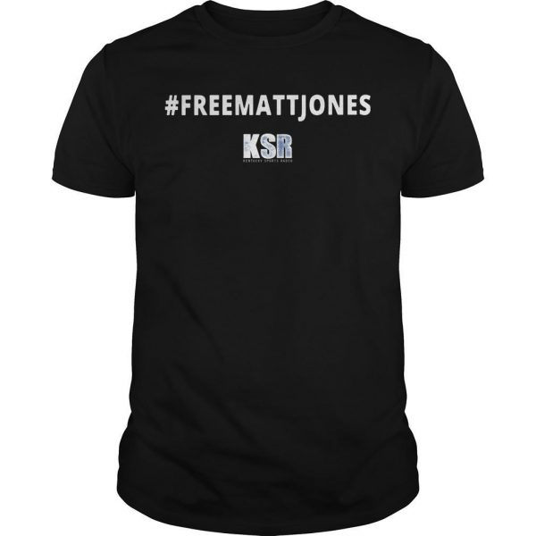 #Freemattjones Ksr Shirt