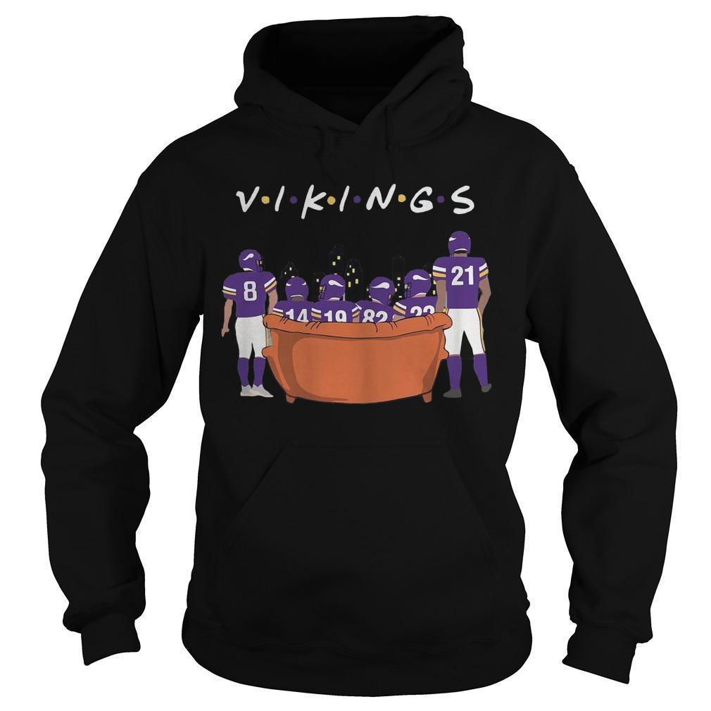 Friends Tv Show Minnesota Vikings Hoodie