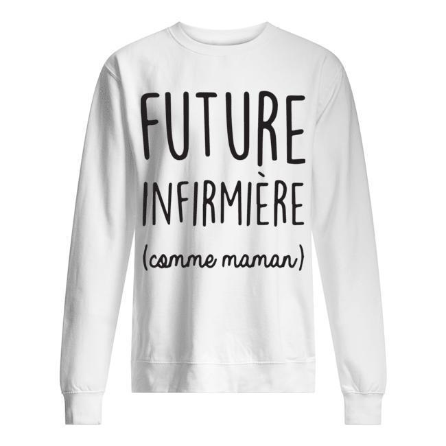 Future Infirmière Comme Maman Sweater