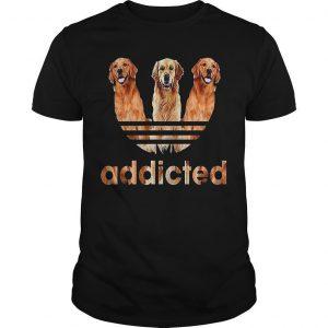 Golden Retriever Addicted Shirt