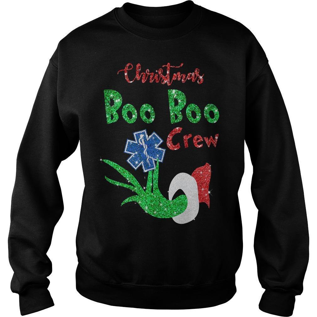 Grinch Boo Boo Crew Sweater