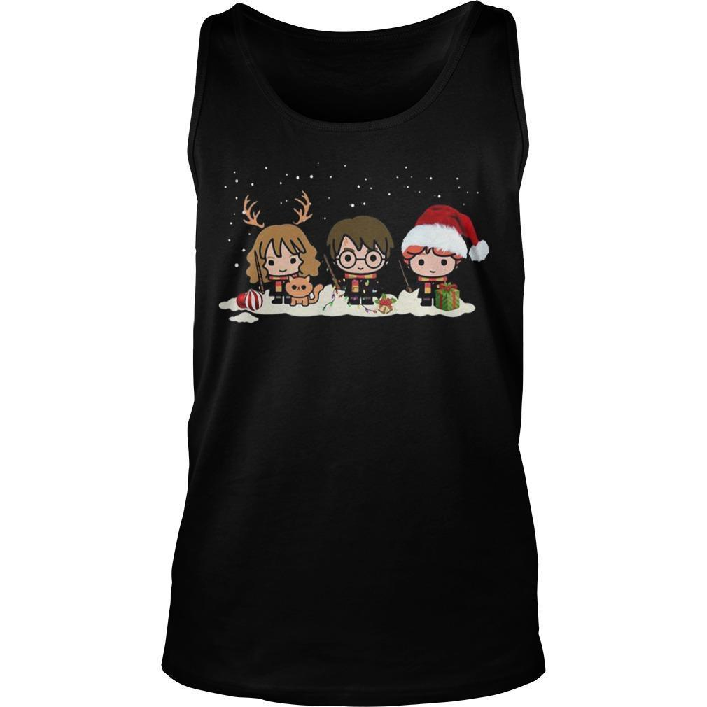 Harry Potter Characters Christmas Tank Top