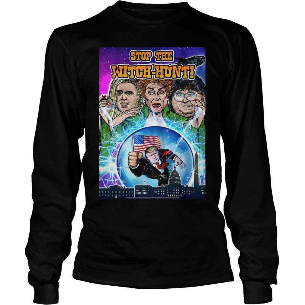 Hocus Pocus Stop The Witch Hunt T Longsleeve