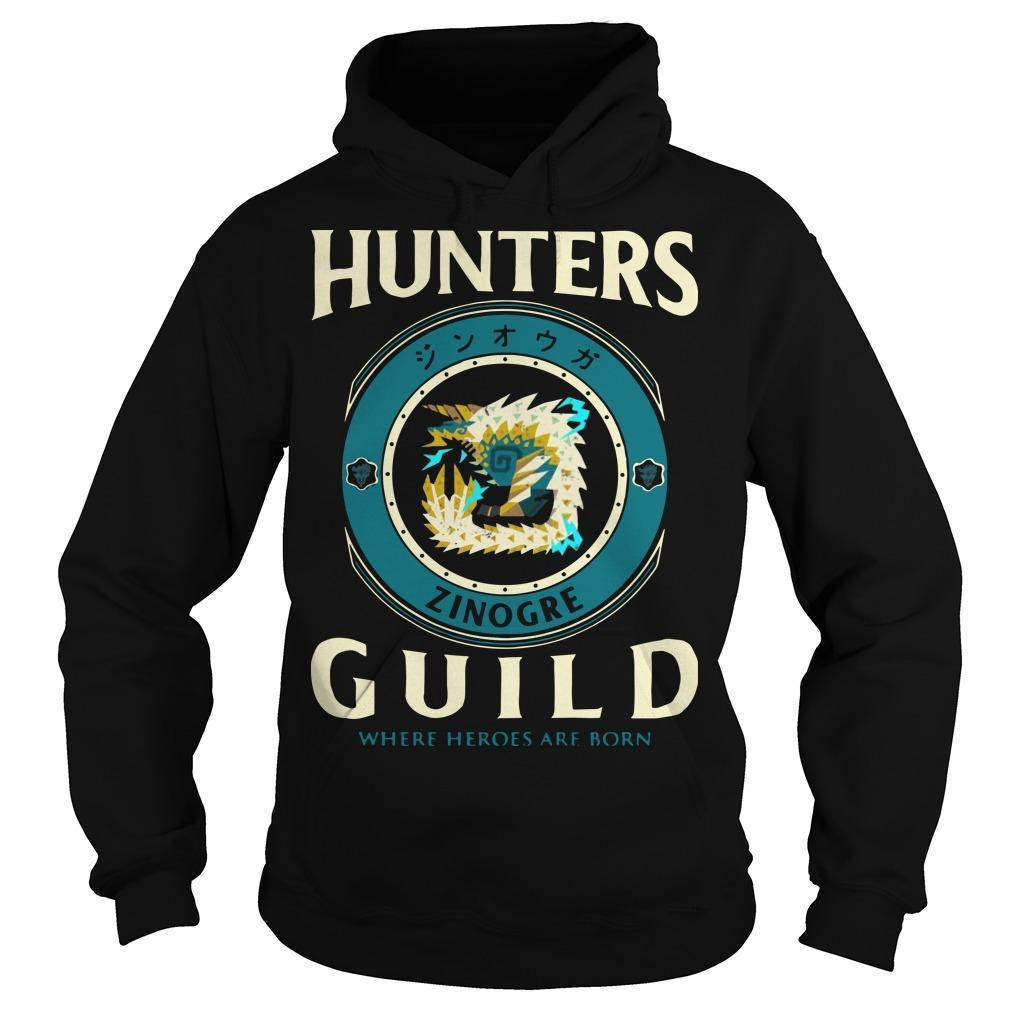 Hunters Guild Where Hero Are Born Hoodie