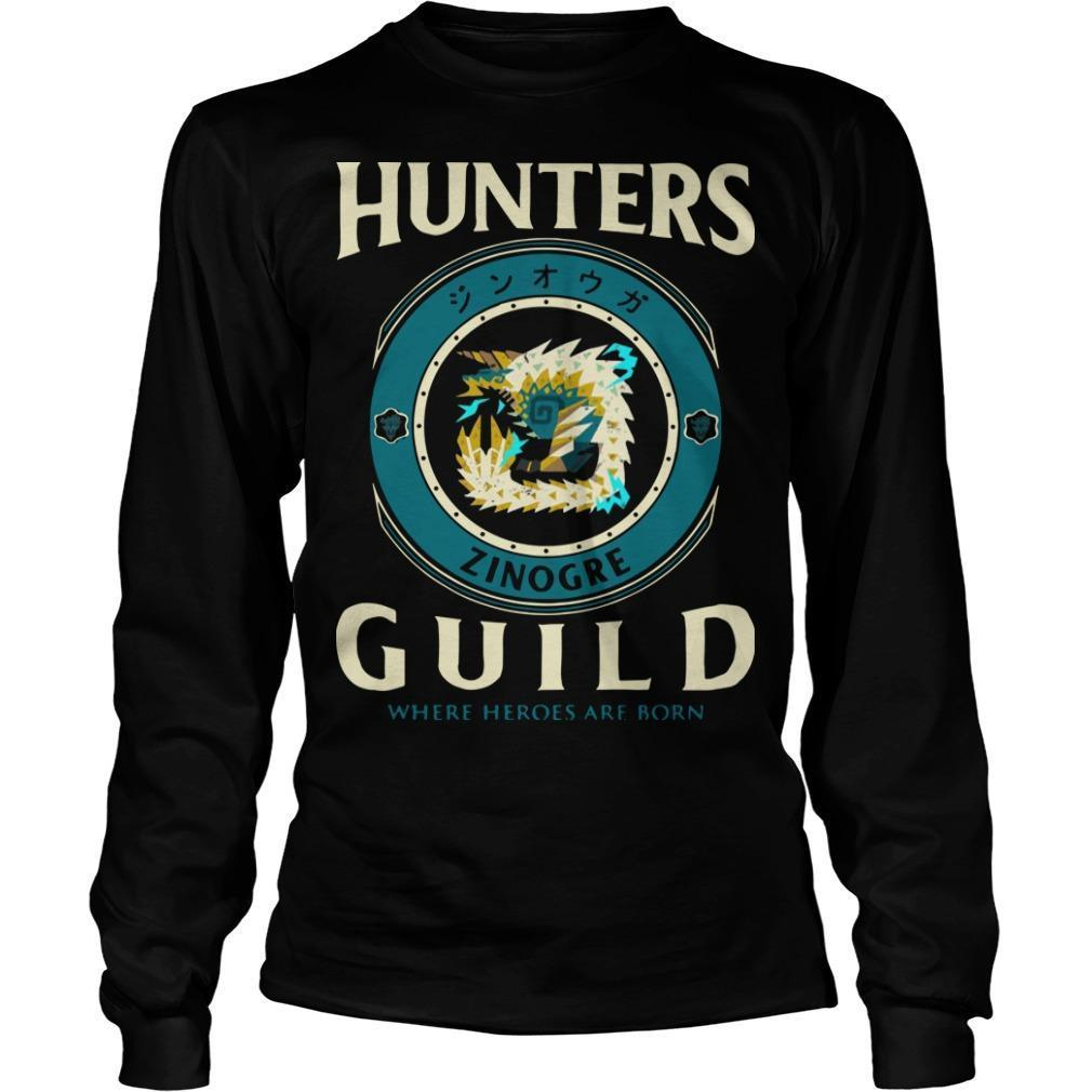 Hunters Guild Where Hero Are Born Longsleeve