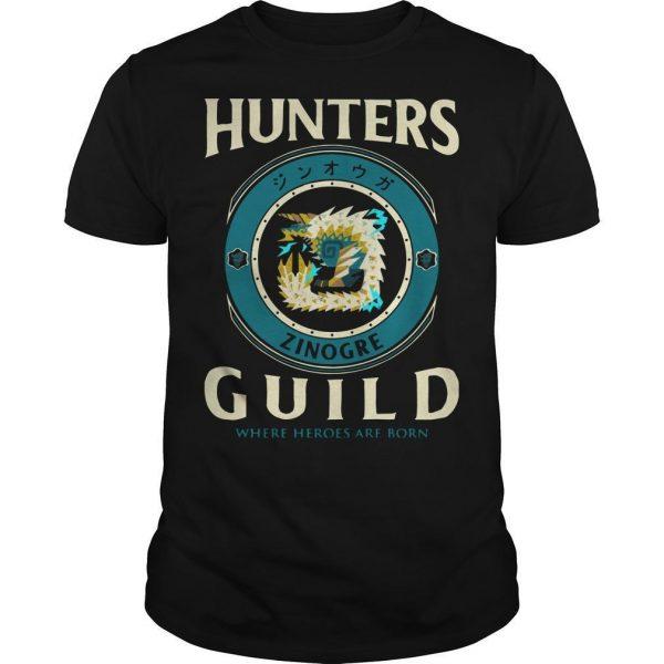 Hunters Guild Where Hero Are Born Shirt