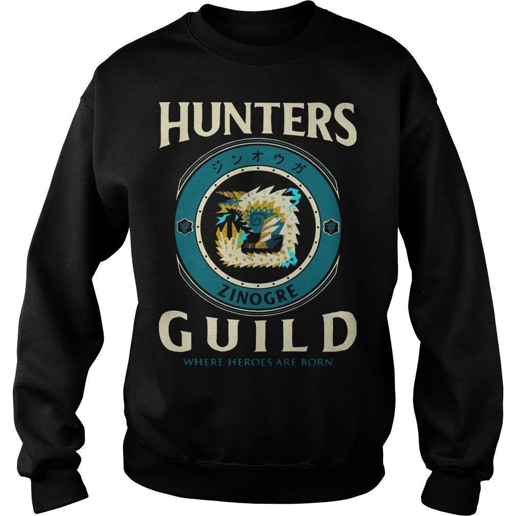 Hunters Guild Where Hero Are Born Sweater