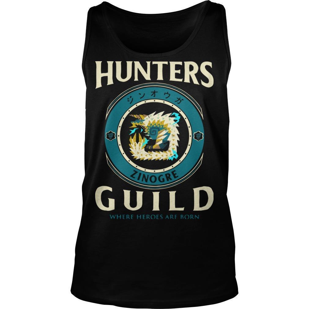 Hunters Guild Where Hero Are Born Tank Top