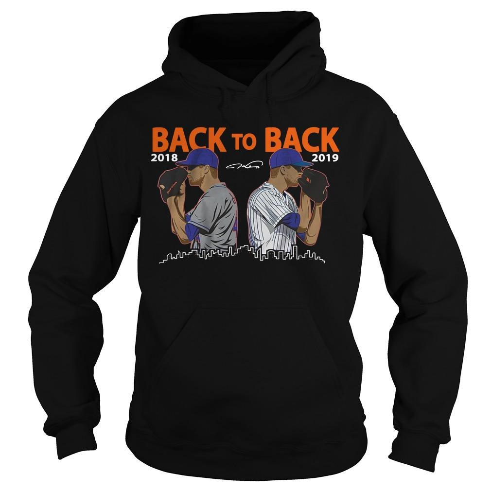 Jacob Degrom New York City Back To Back 2018 2019 Hoodie