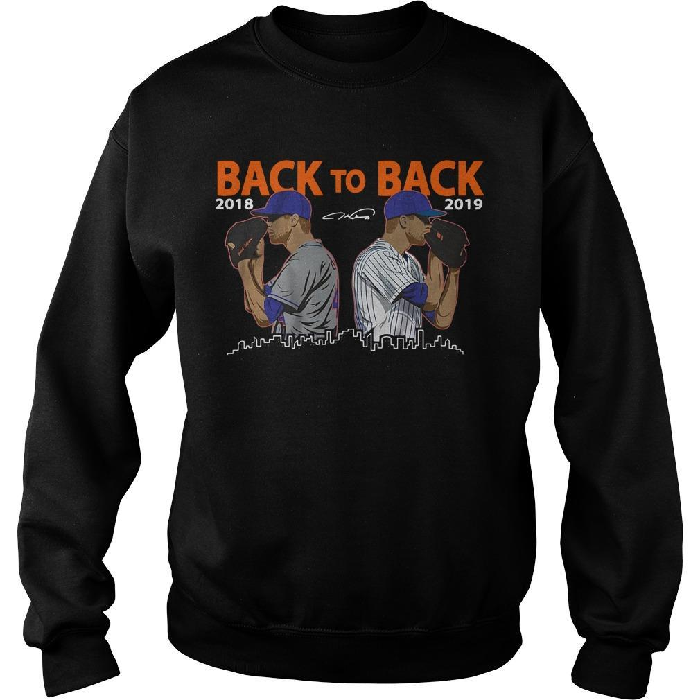 Jacob Degrom New York City Back To Back 2018 2019 Sweater