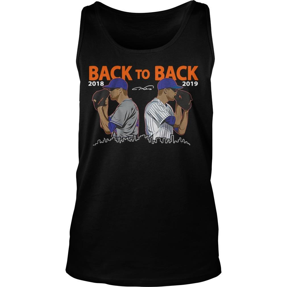 Jacob Degrom New York City Back To Back 2018 2019 Tank Top