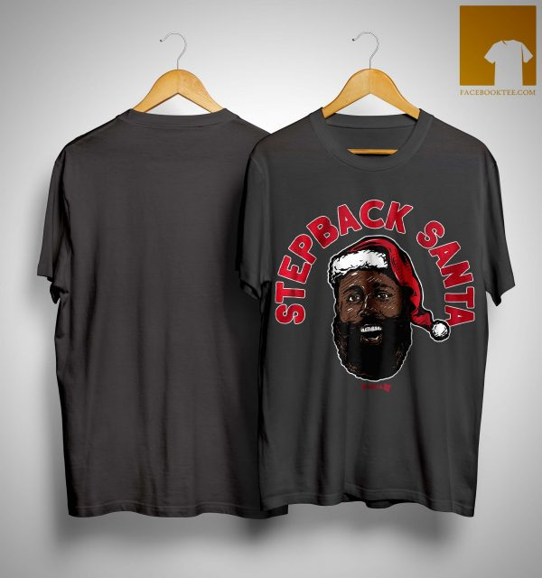 James Harden Stepback Santa Shirt