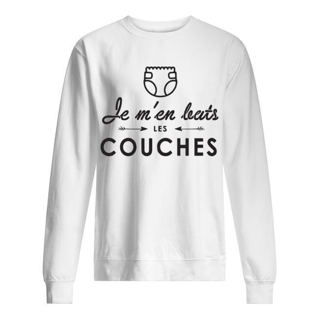 Je M'en Bats Les Couches Sweater