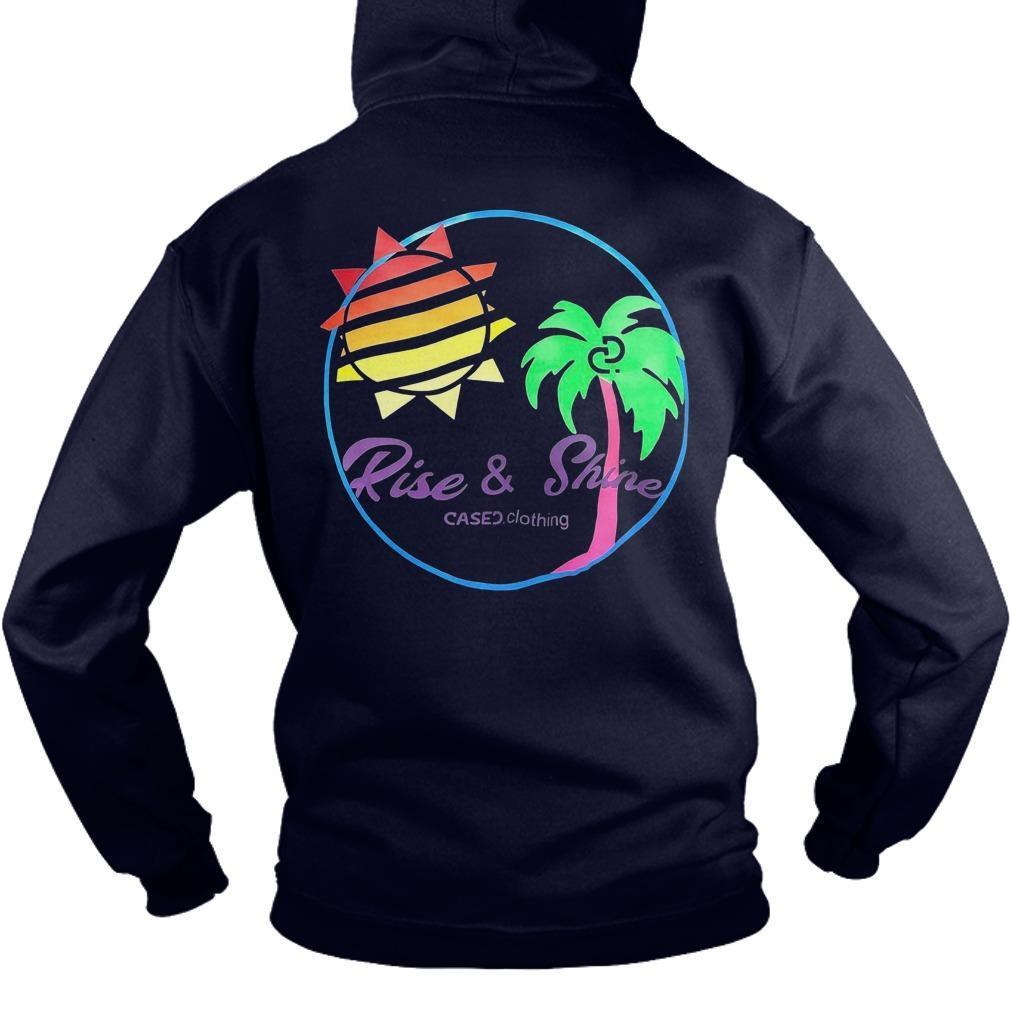 Kylie Jenner Cased Clothing Rise And Shine T Hoodie