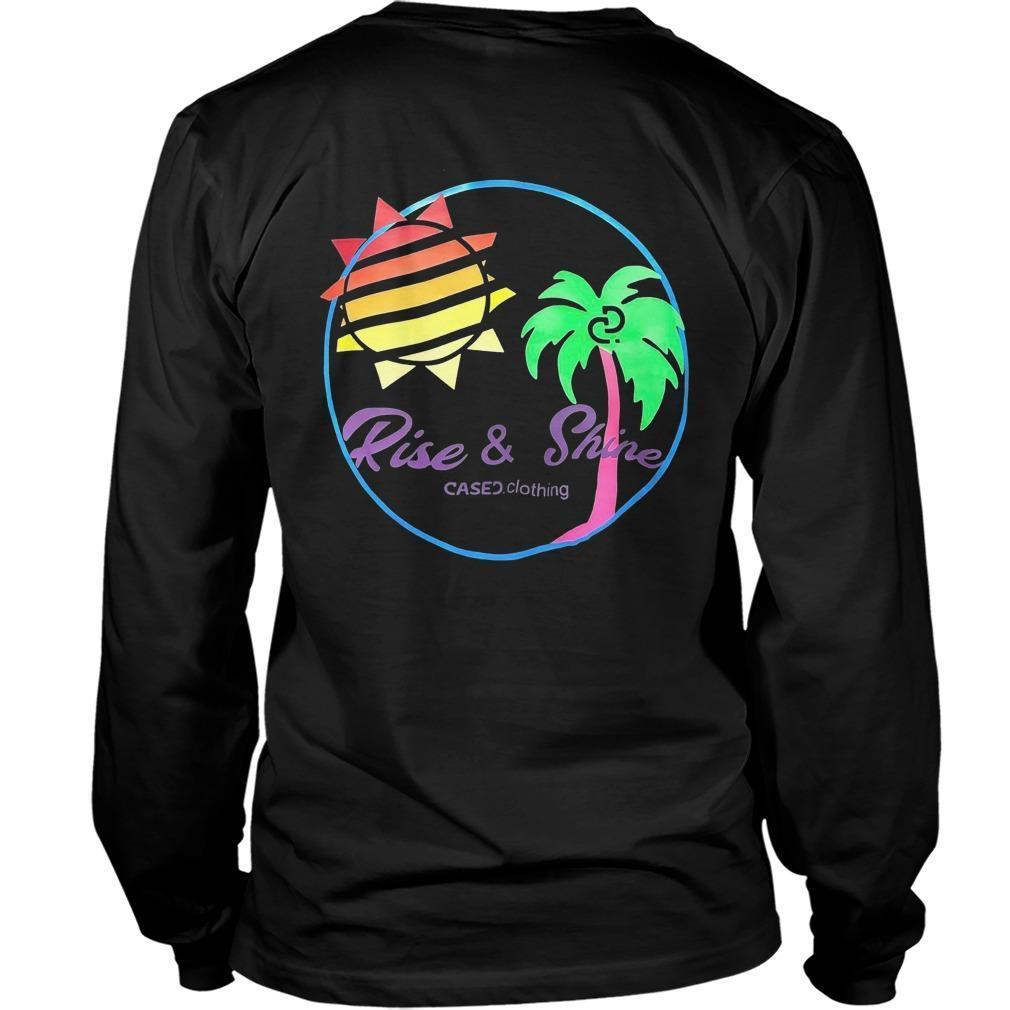 Kylie Jenner Cased Clothing Rise And Shine T Longsleeve
