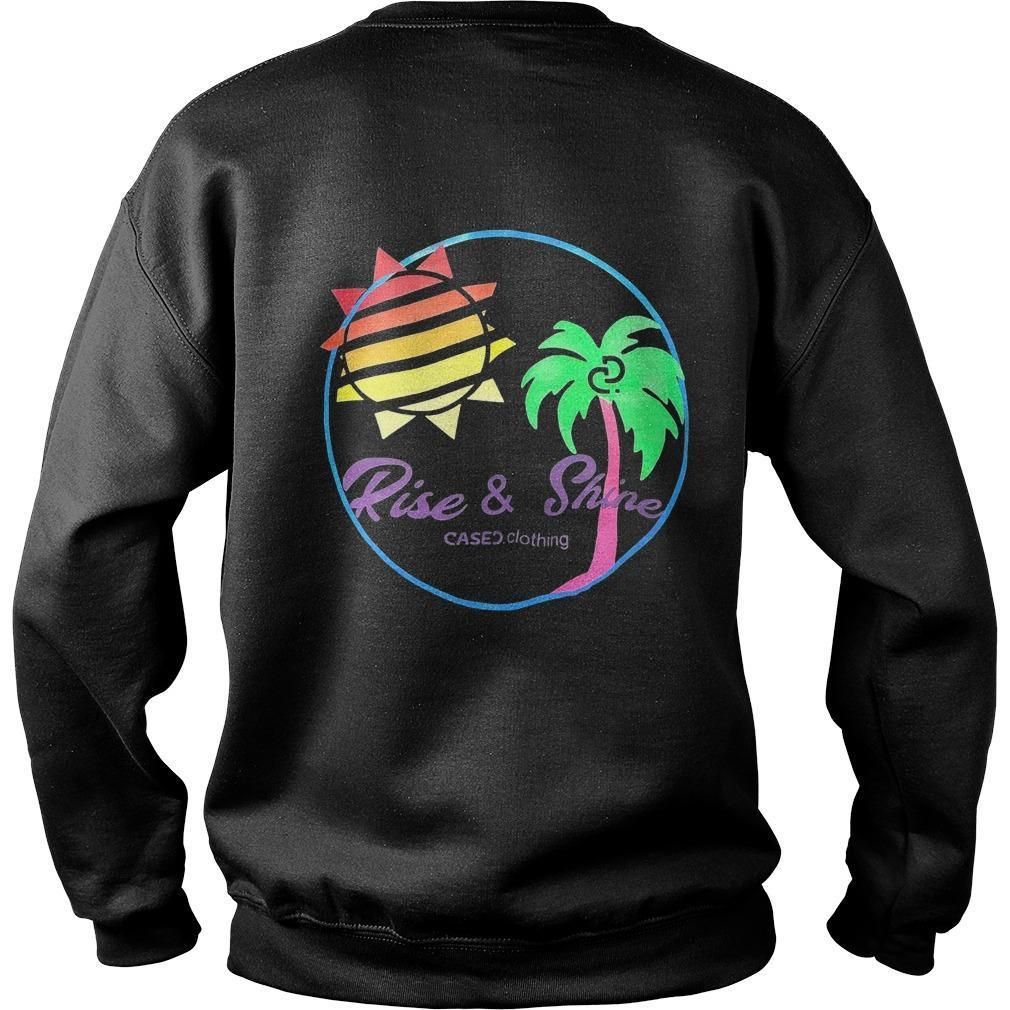 Kylie Jenner Cased Clothing Rise And Shine T Sweater