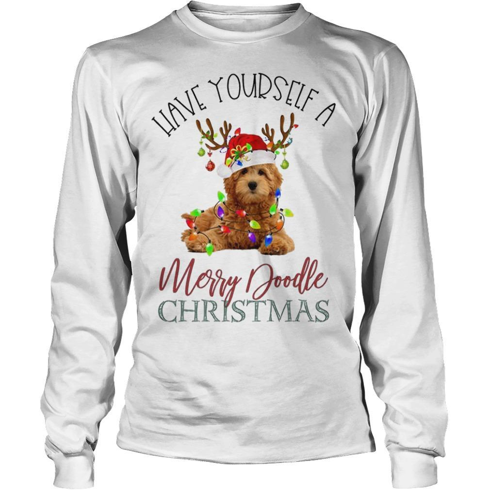 Leave Yourself A Merry Doodle Christmas Longsleeve