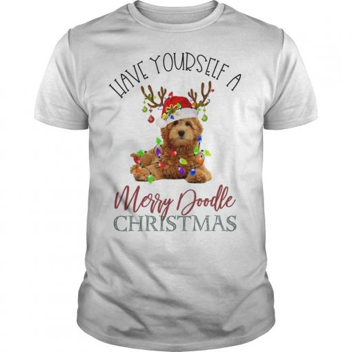 Leave Yourself A Merry Doodle Christmas Shirt