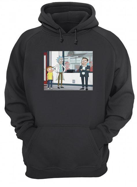 Let's Talk Over Here Elon Musk Rick And Morty Hoodie
