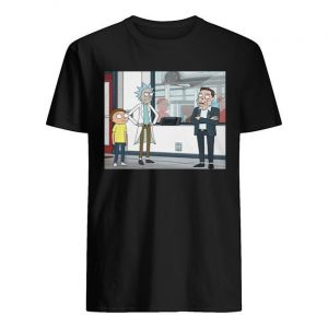 Let's Talk Over Here Elon Musk Rick And Morty Shirt
