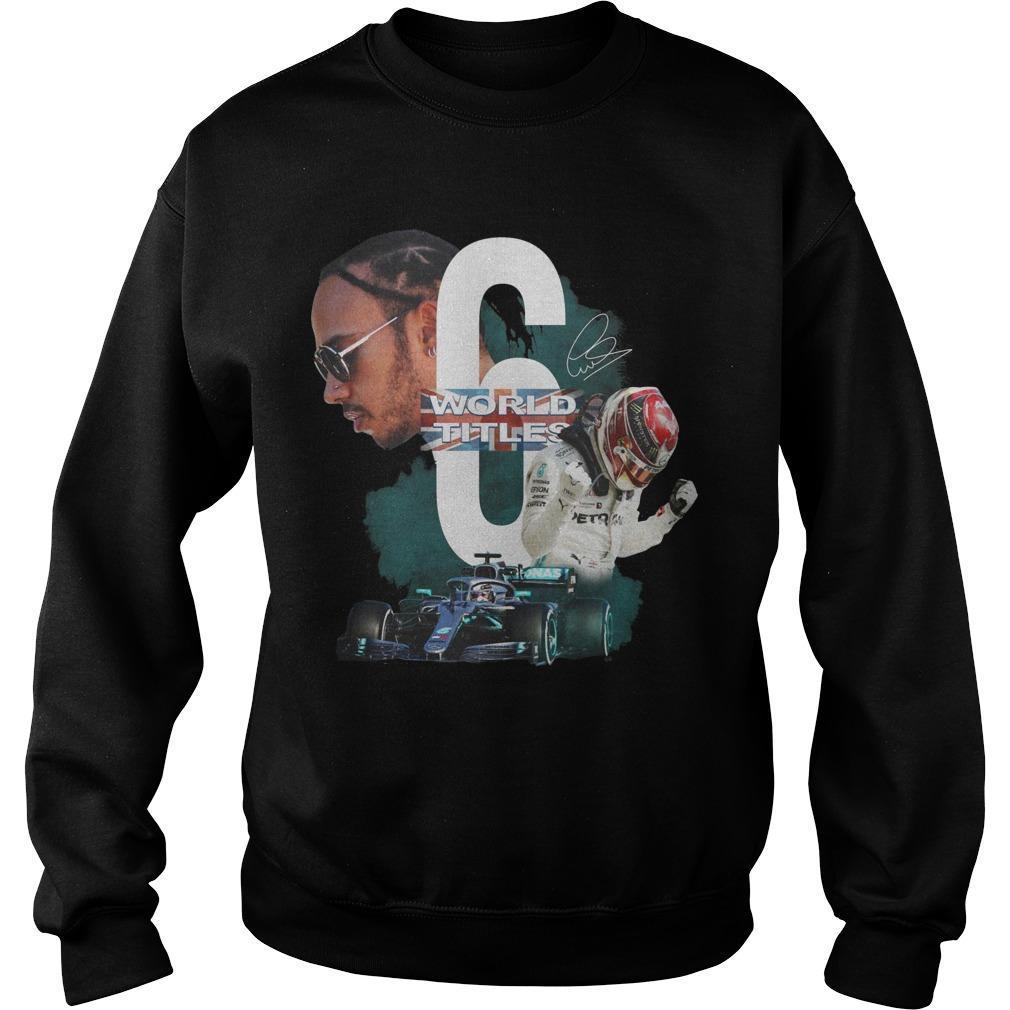 Lewis Hamiltonworld 6 Titles Signature Sweater