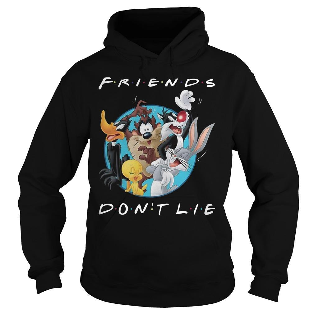 Looney Tunes Friends Don't Lie Hoodie