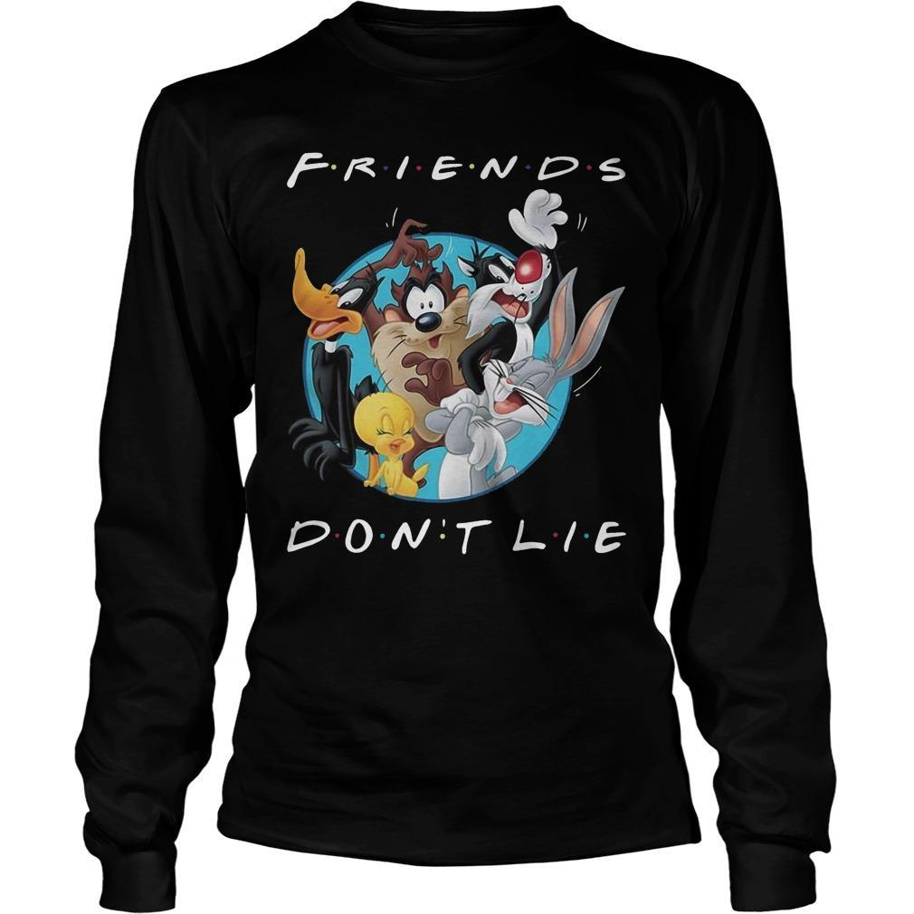Looney Tunes Friends Don't Lie Longsleeve