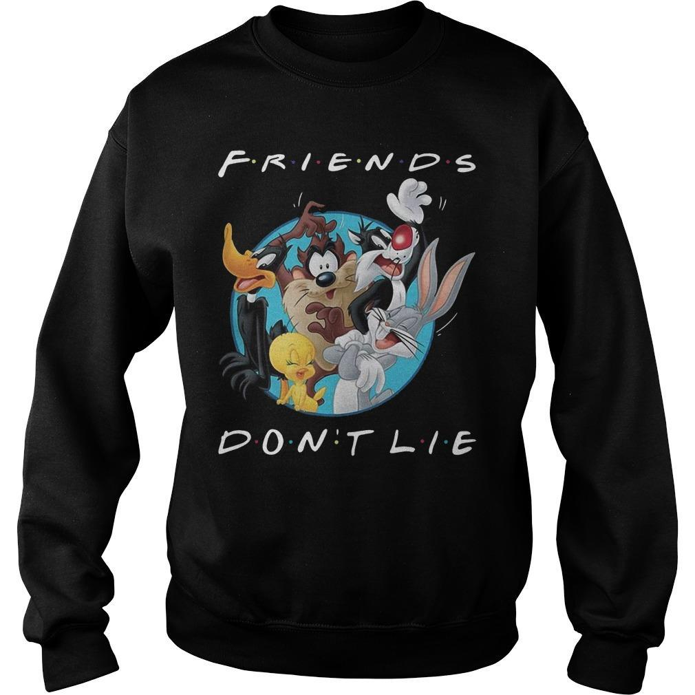 Looney Tunes Friends Don't Lie Sweater