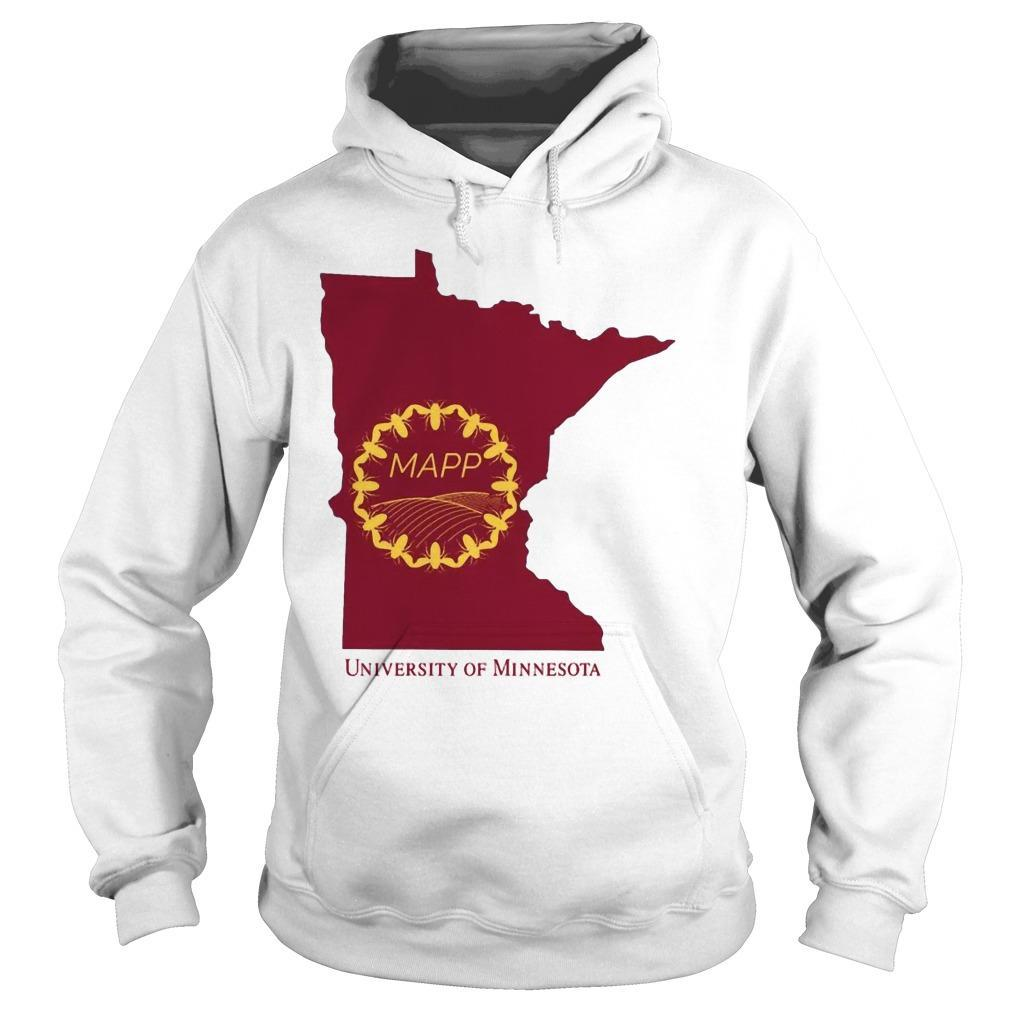 Mapp University Of Minnesota Hoodie