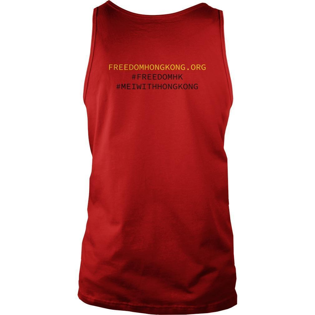 Mei With Hong Kong Freedom Hong Kong Tank Top