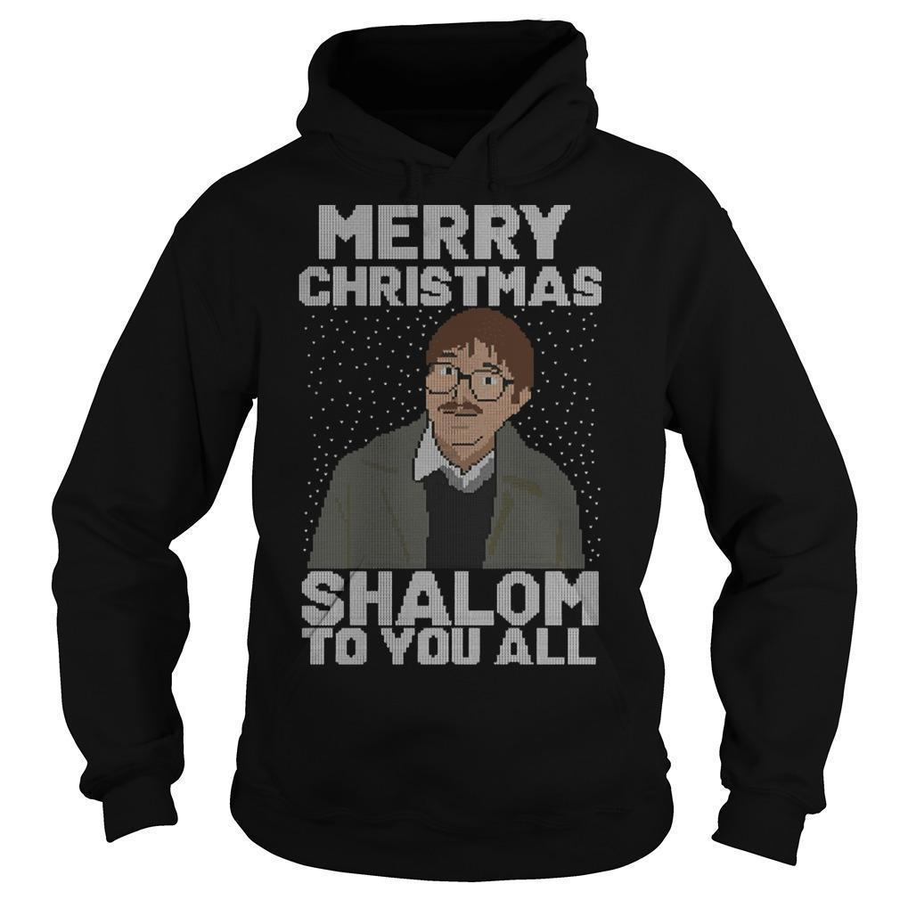 Merry Christmas Shalom To You All Hoodie