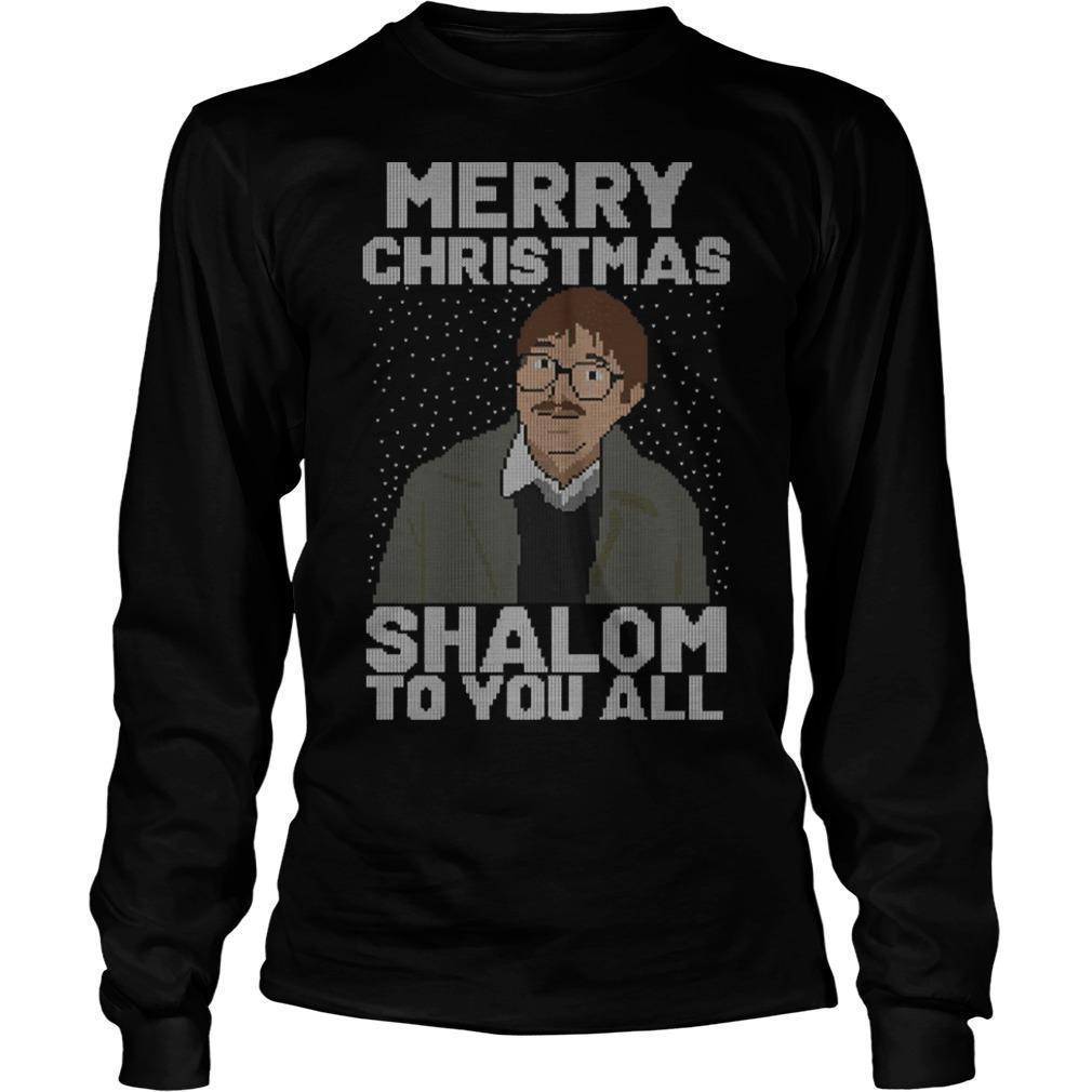 Merry Christmas Shalom To You All Longsleeve