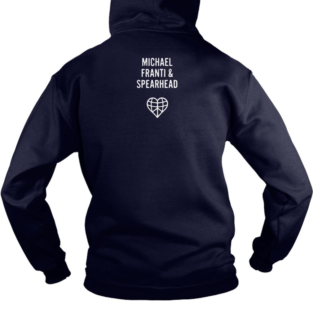 Michael Franti Work Hard & Be Nice To People Hoodie